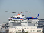 おっつんさんが、東京ヘリポートで撮影した中日本航空 430の航空フォト(写真)