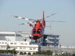 おっつんさんが、東京ヘリポートで撮影した東京消防庁航空隊 AS365N3 Dauphin 2の航空フォト(飛行機 写真・画像)