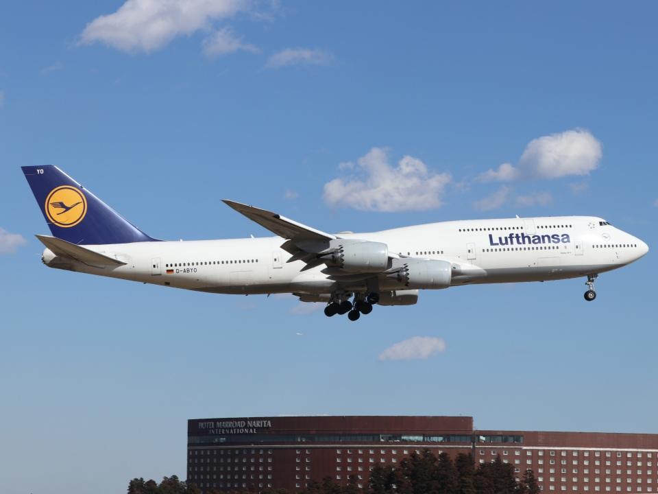 ドガースさんのルフトハンザドイツ航空 Boeing 747-8 (D-ABYO) 航空フォト