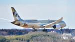 パンダさんが、成田国際空港で撮影したエティハド航空 787-9の航空フォト(写真)