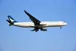 まいけるさんが、スワンナプーム国際空港で撮影したキャセイパシフィック航空 A330-342Xの航空フォト(写真)