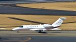 パンダさんが、成田国際空港で撮影した国土交通省 航空局 525C Citation CJ4の航空フォト(写真)