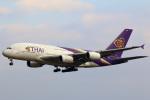 takaRJNSさんが、成田国際空港で撮影したタイ国際航空 A380-841の航空フォト(写真)