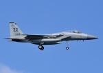 じーく。さんが、嘉手納飛行場で撮影したアメリカ空軍 F-15C-35-MC Eagleの航空フォト(写真)