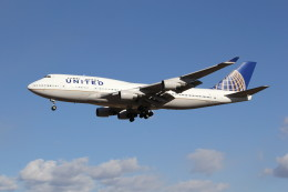 utarou on NRTさんが、成田国際空港で撮影したユナイテッド航空 747-422の航空フォト(飛行機 写真・画像)