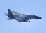 じーく。さんが、嘉手納飛行場で撮影したアメリカ空軍 F-15C-40-MC Eagleの航空フォト(写真)
