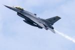 まんぼ しりうすさんが、シンガポール・チャンギ国際空港で撮影したシンガポール空軍 F-16C Fighting Falconの航空フォト(写真)