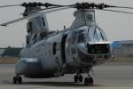 banshee02さんが、厚木飛行場で撮影したアメリカ海兵隊 CH-46Eの航空フォト(写真)