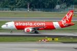 Ariesさんが、シンガポール・チャンギ国際空港で撮影したエアアジア A320-216の航空フォト(写真)