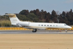 Wings Flapさんが、成田国際空港で撮影したMGMミラージュ G-V Gulfstream Vの航空フォト(写真)