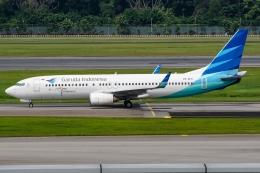 航空フォト:PK-GFG ガルーダ・インドネシア航空 737-800