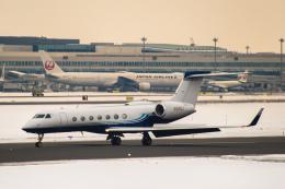 Cygnus00さんが、新千歳空港で撮影したPrivate G500/G550 (G-V)の航空フォト(写真)