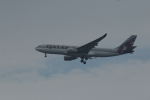 ケイゴさんが、関西国際空港で撮影したカタール航空 A330-202の航空フォト(写真)