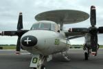 おかげ犬さんが、三沢飛行場で撮影したアメリカ海軍 E-2C Hawkeyeの航空フォト(写真)