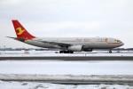 北の熊さんが、新千歳空港で撮影した天津航空 A330-243の航空フォト(写真)