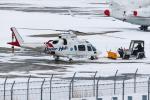 KAMIYA JASDFさんが、函館空港で撮影した鹿児島国際航空 A109E Powerの航空フォト(写真)