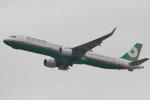 camelliaさんが、成田国際空港で撮影したエバー航空 A321-211の航空フォト(写真)
