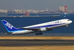 りんたろうさんが、羽田空港で撮影した全日空 767-381の航空フォト(写真)