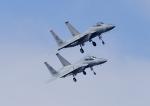 じーく。さんが、嘉手納飛行場で撮影したアメリカ空軍 F-15C-34-MC Eagleの航空フォト(飛行機 写真・画像)