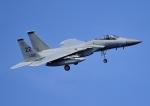 じーく。さんが、嘉手納飛行場で撮影したアメリカ空軍 F-15C-33-MC Eagleの航空フォト(飛行機 写真・画像)