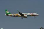 妄想竹さんが、台湾桃園国際空港で撮影したエバー航空 A321-211の航空フォト(写真)