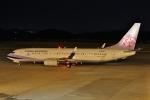 だいまる。さんが、岡山空港で撮影したチャイナエアライン 737-8ALの航空フォト(写真)