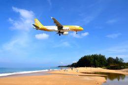 まいけるさんが、プーケット国際空港で撮影したスクート A320-232の航空フォト(写真)