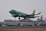 turenoアカクロさんが、高松空港で撮影したフジドリームエアラインズ ERJ-170-200 (ERJ-175STD)の航空フォト(写真)