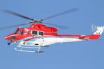 けーし135Rさんが、小松空港で撮影した石川県消防防災航空隊 412EPの航空フォト(写真)