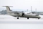 北の熊さんが、新千歳空港で撮影したユニカル・アヴィエーション DHC-8-402Q Dash 8の航空フォト(写真)