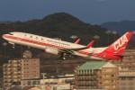 青春の1ページさんが、福岡空港で撮影した中国聯合航空 737-89Pの航空フォト(写真)