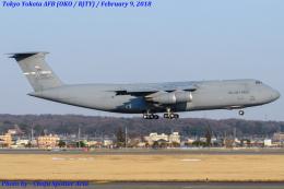 Chofu Spotter Ariaさんが、横田基地で撮影したアメリカ空軍 C-5M Super Galaxyの航空フォト(写真)