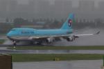 INSKYさんが、金浦国際空港で撮影した大韓航空 747-4B5の航空フォト(写真)
