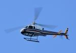 じーく。さんが、那覇空港で撮影したアイラス航空 AS350B2 Ecureuilの航空フォト(飛行機 写真・画像)