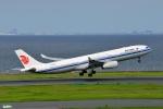 妄想竹さんが、羽田空港で撮影した中国国際航空 A330-343Xの航空フォト(写真)