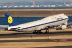 JRF spotterさんが、羽田空港で撮影したルフトハンザドイツ航空 747-830の航空フォト(写真)