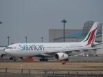 とりてつさんが、成田国際空港で撮影したスリランカ航空 A330-343Xの航空フォト(写真)