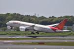 turenoアカクロさんが、成田国際空港で撮影したエア・インディア 787-8 Dreamlinerの航空フォト(写真)