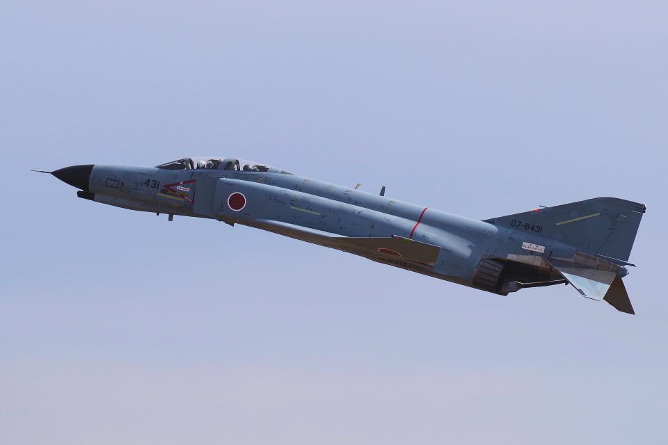 yabyanさんの航空自衛隊 Mitsubishi F-4EJ Kai Phantom II (07-8431) 航空フォト