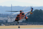 yabyanさんが、名古屋飛行場で撮影した新日本ヘリコプター AS332L1 Super Pumaの航空フォト(飛行機 写真・画像)