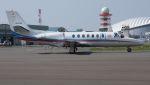 C.Hiranoさんが、札幌飛行場で撮影した朝日新聞社 560 Citation Encoreの航空フォト(写真)
