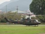 ユターさんが、久留米駐屯地で撮影した陸上自衛隊 UH-1Jの航空フォト(写真)