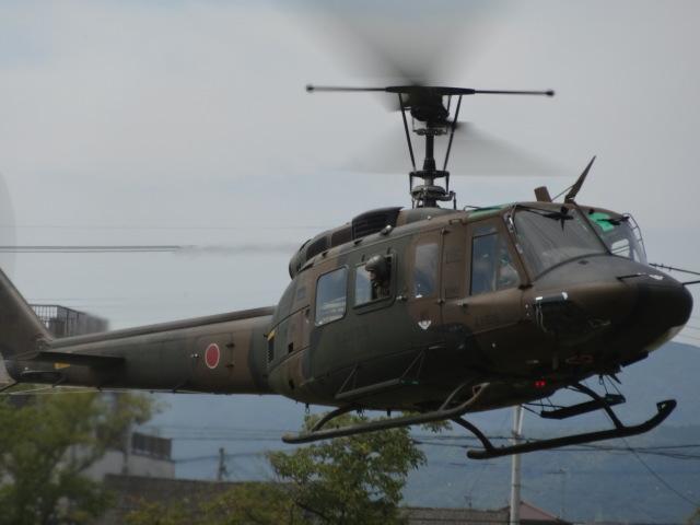 ユターさんが、小郡駐屯地で撮影した陸上自衛隊 UH-1Jの航空フォト(飛行機 写真・画像)
