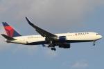 camelliaさんが、成田国際空港で撮影したデルタ航空 767-332/ERの航空フォト(写真)