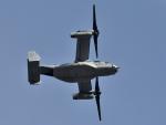 NFファンさんが、厚木飛行場で撮影したアメリカ海兵隊 MV-22Bの航空フォト(写真)