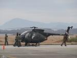ユターさんが、築城基地で撮影した陸上自衛隊 OH-6Dの航空フォト(写真)