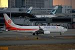 Jin Bergqiさんが、関西国際空港で撮影した奥凱航空 737-8KFの航空フォト(写真)