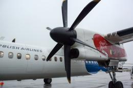 panchiさんが、ヨハネパウロ2世・クラクフ・バリツェ国際空港で撮影したLOTポーランド航空 DHC-8-402Q Dash 8の航空フォト(飛行機 写真・画像)