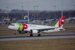 JA8037さんが、ミュンヘン・フランツヨーゼフシュトラウス空港で撮影したTAPポルトガル航空 A320-214の航空フォト(写真)