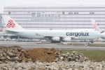 KIMISTONERさんが、台湾桃園国際空港で撮影したカーゴルクス 747-467F/SCDの航空フォト(写真)